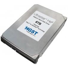 HGST Ultrastar HE6 -- 3.5''/6TB/SATA 6GB/s/7200RPM/64MB/Helium Platform Enterprise HDD/5 Years Warranty 0F18335