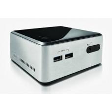 Intel BOXD34010WYKH 4th Gen NUC (Silver/Black), I3 4010U, 1.7GHz, 2.5