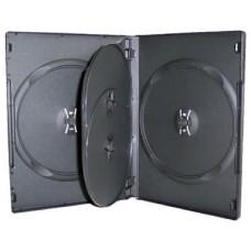Black DVD Cases Holds 4 (14mm)
