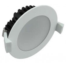 LEDware LED Downlight Kit 13W (800 lm) Warm White Fixed Dimmable Flex & Plug [White] DL-WW-13WFD-WT