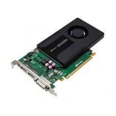 Leadtek nVidia Quadro K2000 PCI Express 2.0 x16, 2GB GDDR5, 128 Bit, 384 CUDA Cores, 1x DVI-I,2x Display Port,DX11 LT-K2000