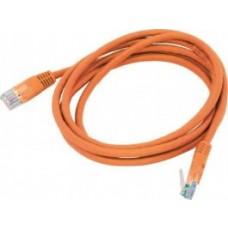 Cat 6 UTP Ethernet Cable, Snagless - 1m (100cm) Orange PL6-1ORG