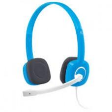 Logitech 981-000454(H150) Logitech 981-000454(H150) Logitech Stereo Headset H150 - Sky Blue