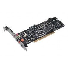 Asus Xonar DG PCI Gaming soundcard, 5.1 Channel, Dolby, Up to 105dB, Built-in Headphone AMP, GX2.5 for realistic 3D audio, Low-profile bracket 90-YAA0K0-0AAN0BZ