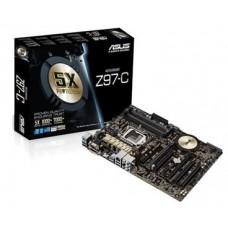 ASUS Z97-C/4 x DDR3/1 x PCIe 3.0/4 x SATA/6 x USB3.0/6 x USB 2.0/D-SUB/HDMI/DVI-D/ATX Z97-C